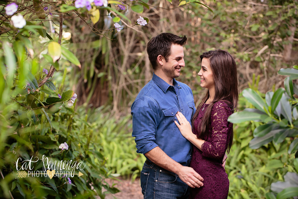 Selby gardens engagement session lindsey andy