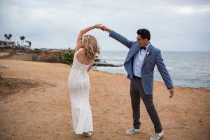 Elopement wedding photos, Beach elopement photos, San Diego elopement, Ocean beach elopement, elopement wedding photos, elopement portraits